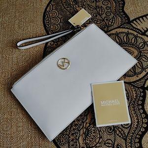 NWT Michael Kors clutch wallet wrist bag MK purse